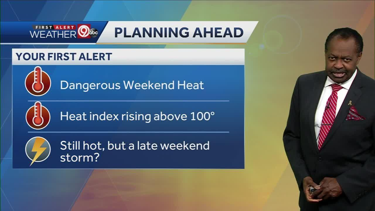 Excessive heat warning issued for Kansas City metro area through Wednesday evening