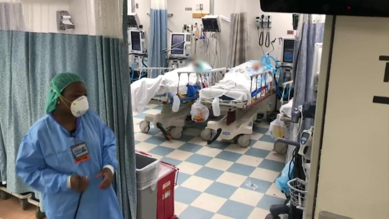 Video Shows COVID Ward At Jackson Memorial Hospital