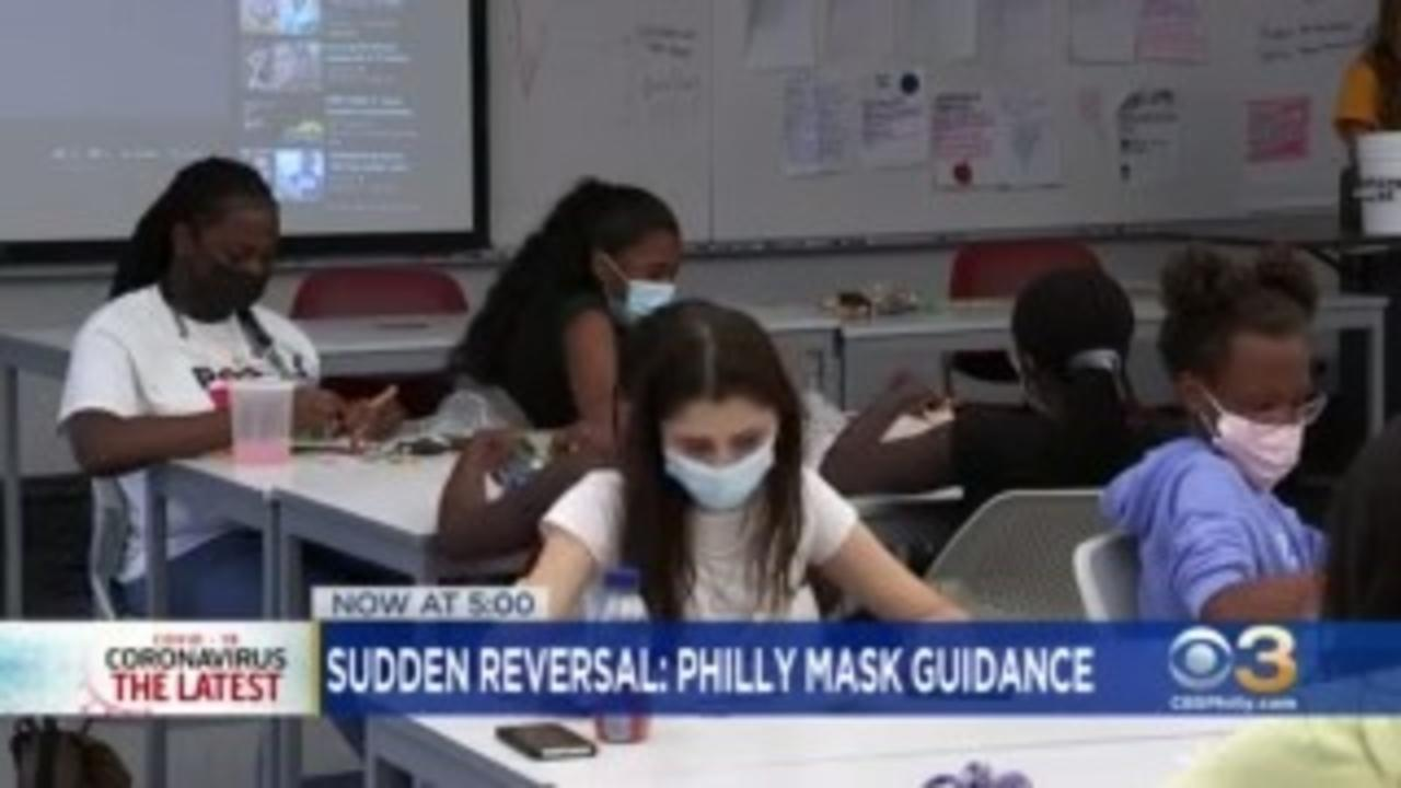 Philadelphia Strongly Recommends Wearing Face Masks Inside Due To Increase In COVID Cases