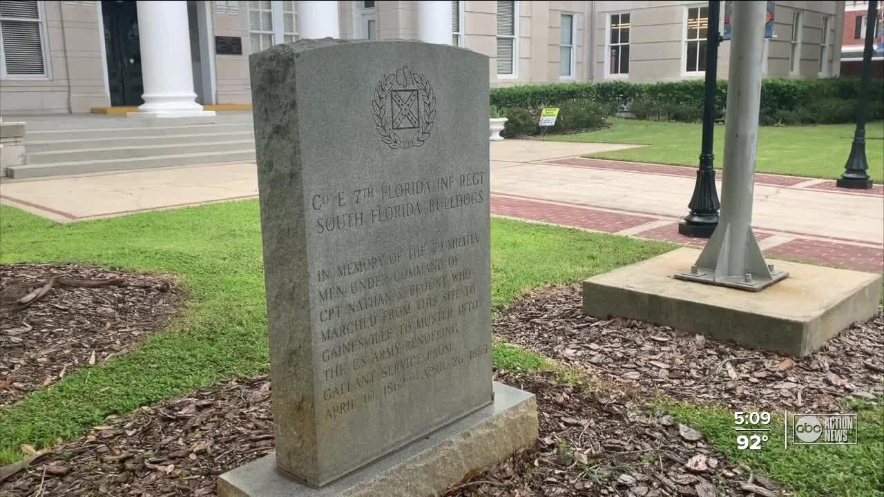 Polk County to move confederate monument
