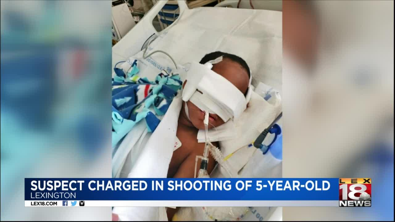 Suspect charged in shooting of 5-year-old