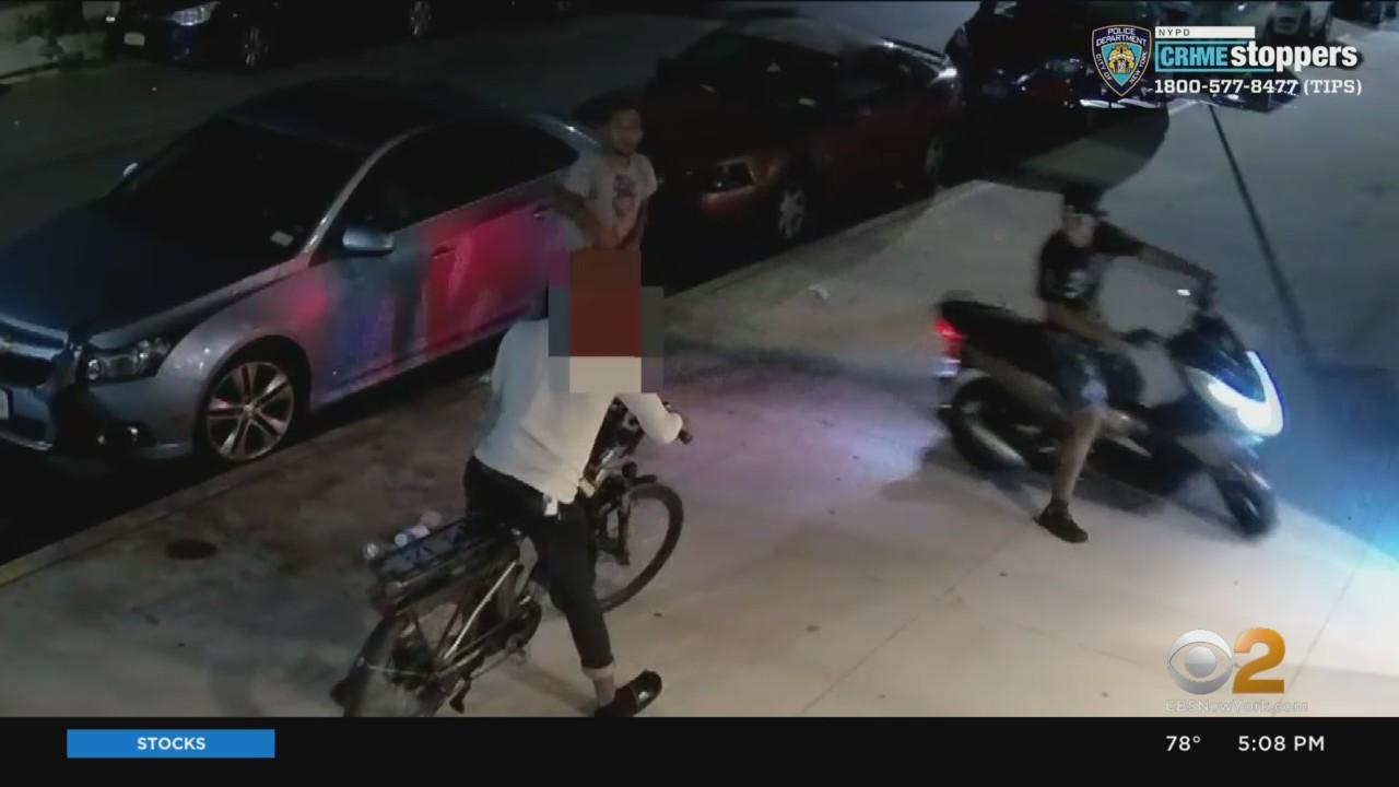 Armed Suspects Try To Steal E-Bike From Food Delivery Worker In Brooklyn