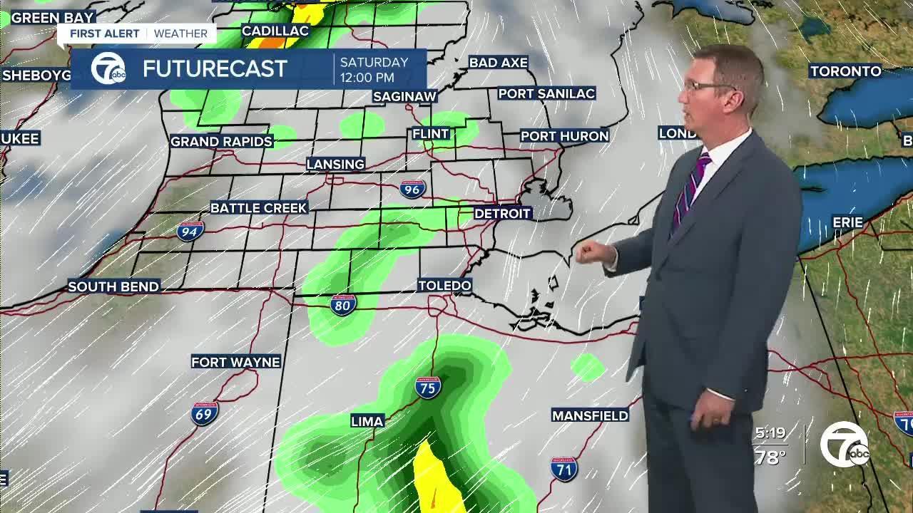 Rain returns this weekend