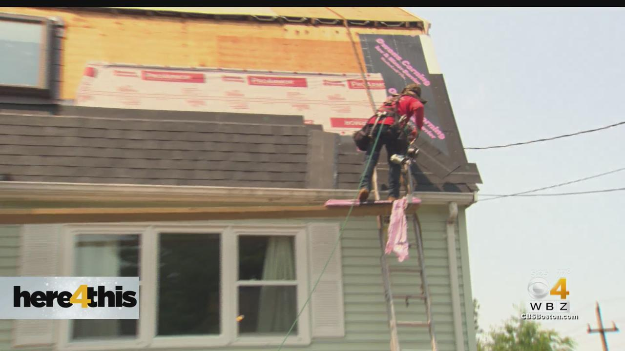 'It Means A Lot': Randolph Army Veteran Gets New Roof From Operation Homefront
