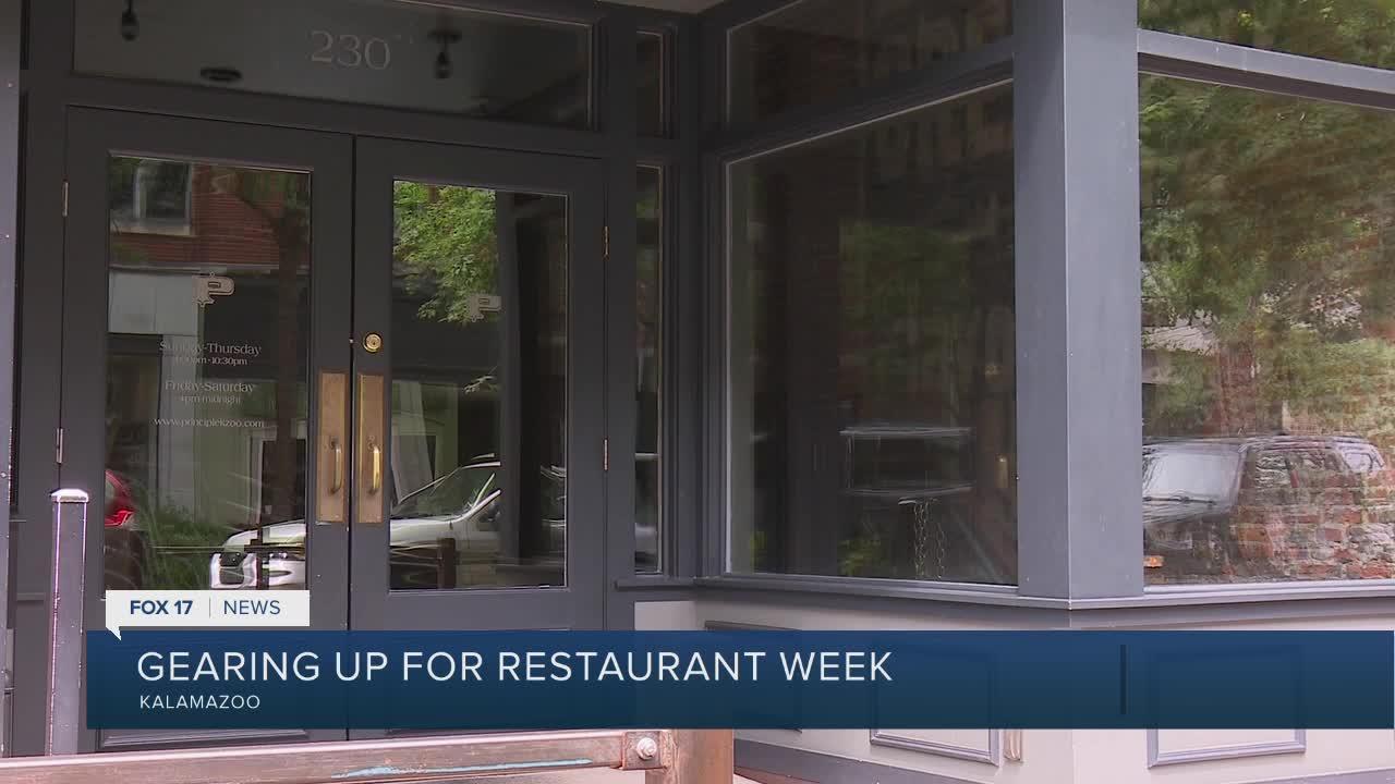 Kalamazoo Downtown Restaurant Week