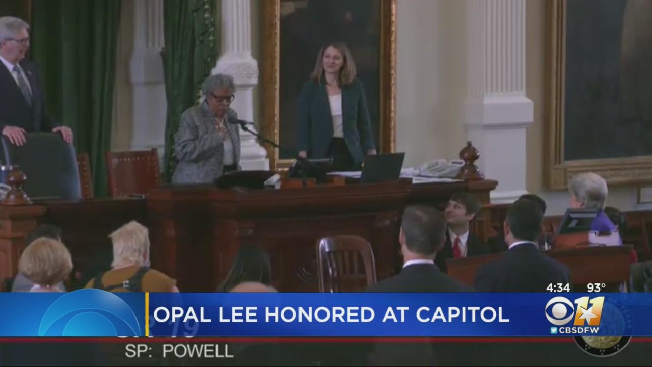 Texas Senate Honors Opal Lee For Helping Make Juneteenth National Holiday