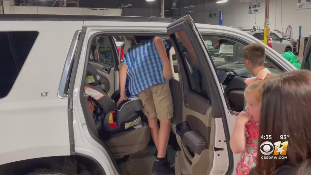 Dallas Widow And Mother Of 5 Gifted Large SUV To Help Family