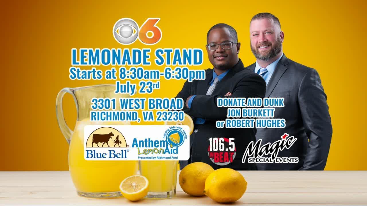 🍋Anthem LemonAid: Help fight childhood cancer Friday; try new ice cream