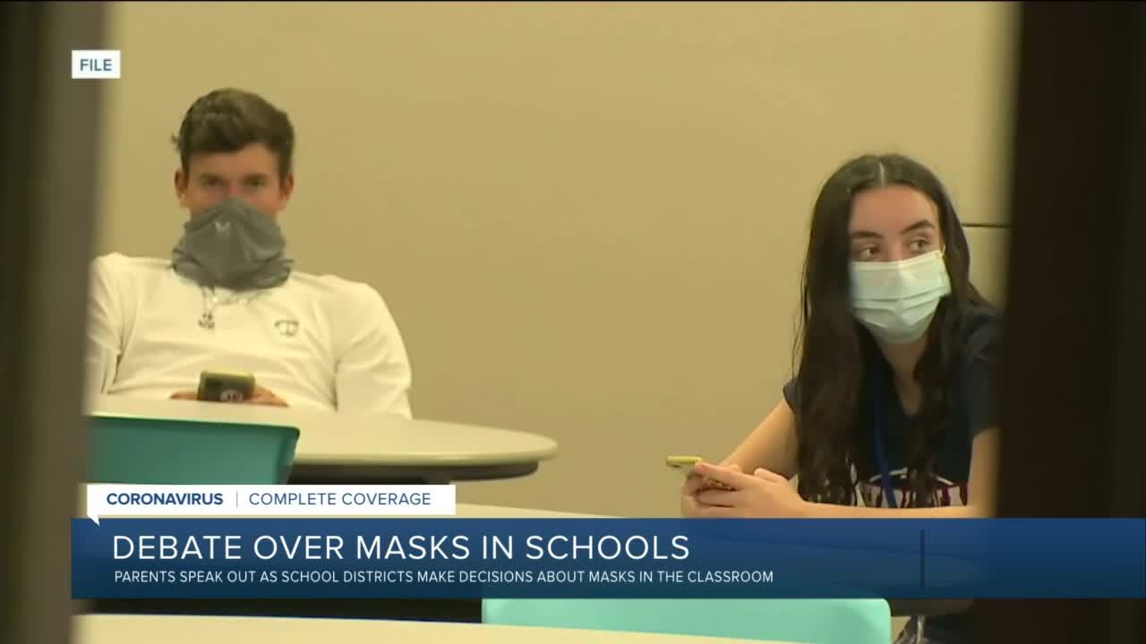 To mask or not to mask? Parents express concerns ahead of school year