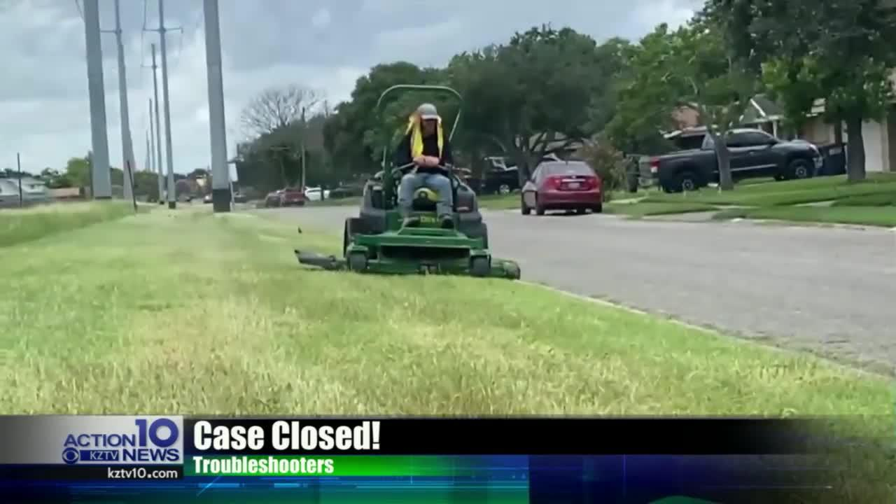 TS update: City crews cutting tall grass along O'Day Parkway