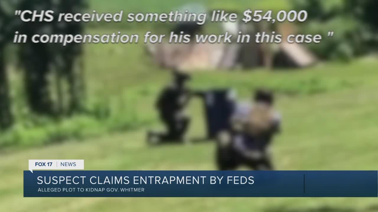 Governor Kidnap Suspect Claims Entrapment by Feds