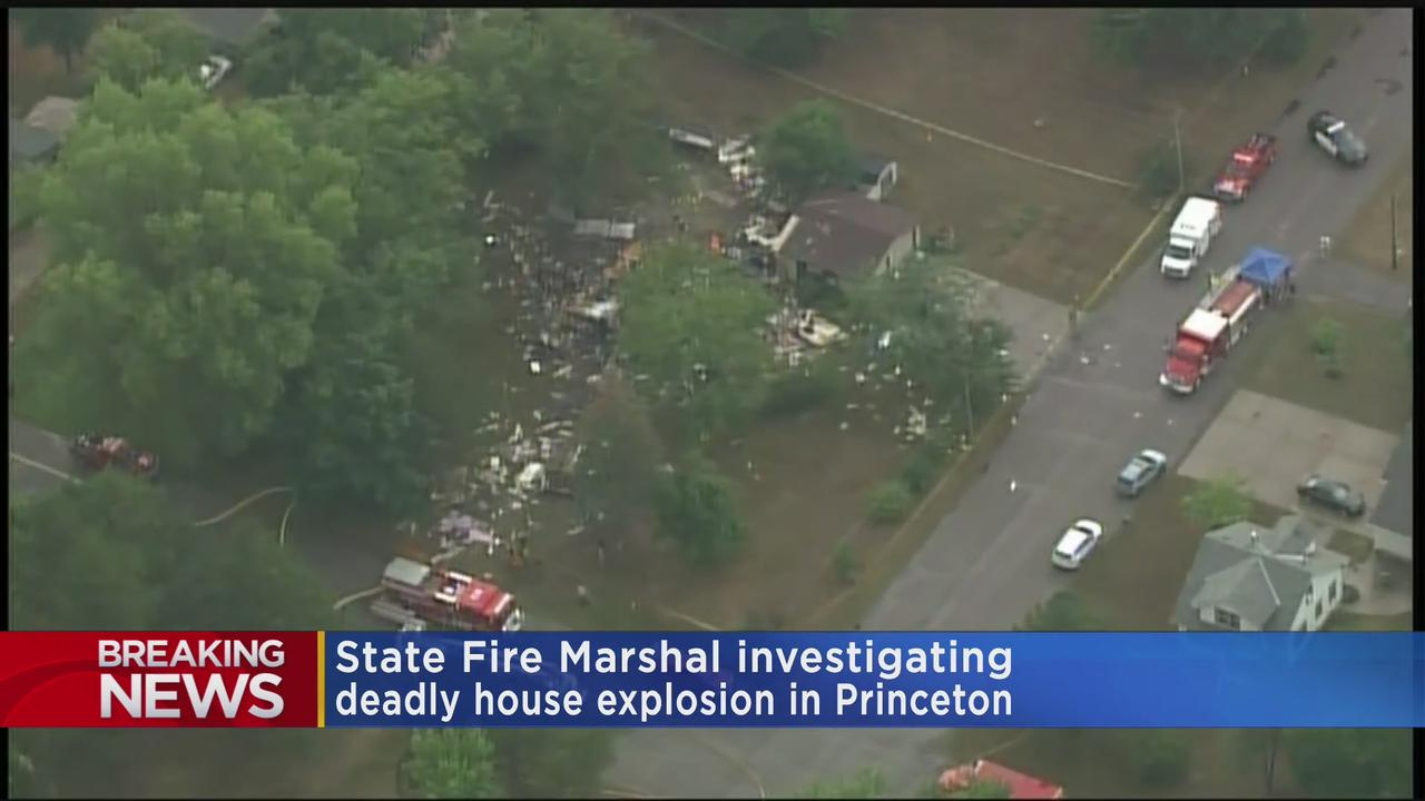 Deadly House Explosion In Princeton