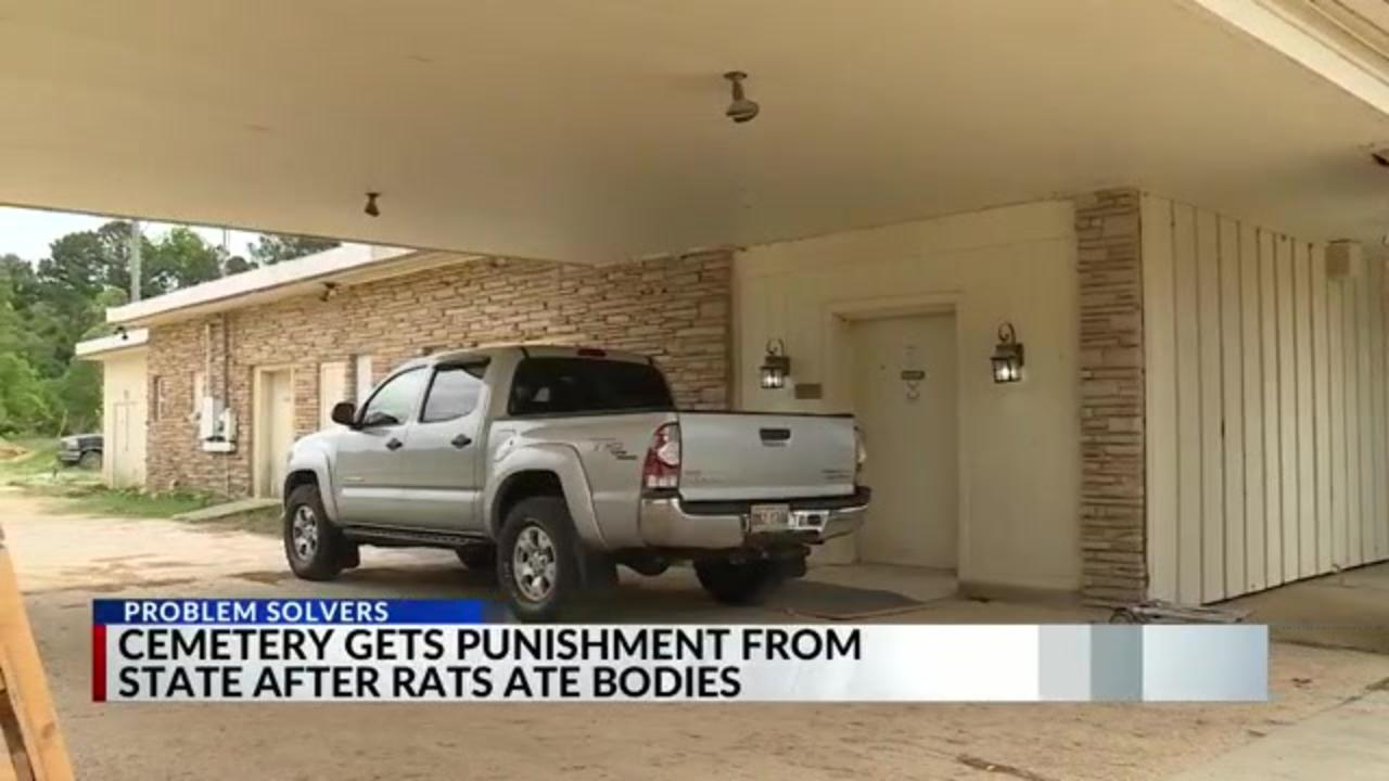 Tennessee cemetery ordered to pay fine to state after rats ate dead bodies
