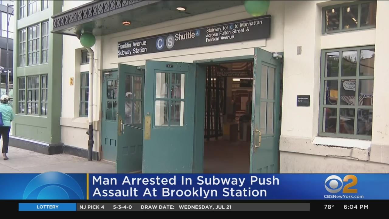 Man Arrested In Subway Push Assault At Brooklyn Station
