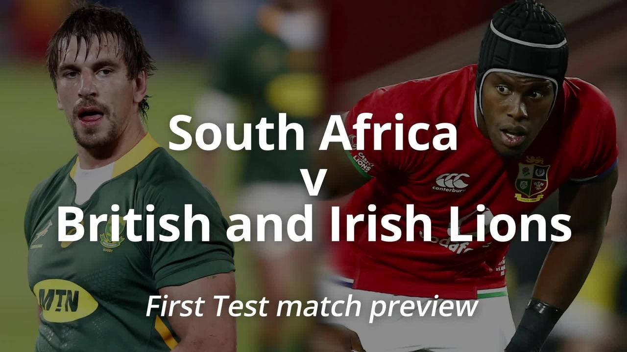 South Africa v British and Irish Lions: First Test match preview
