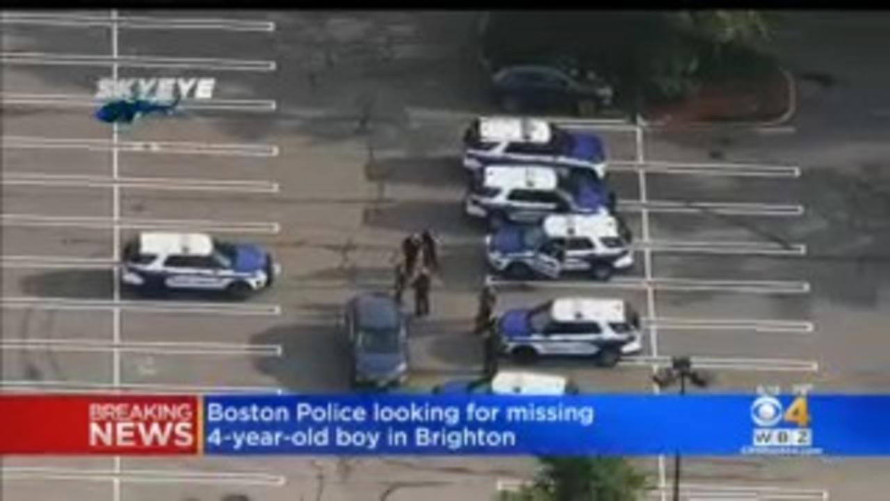 Boston Police Searching For Missing 4-Year-Old In Brighton