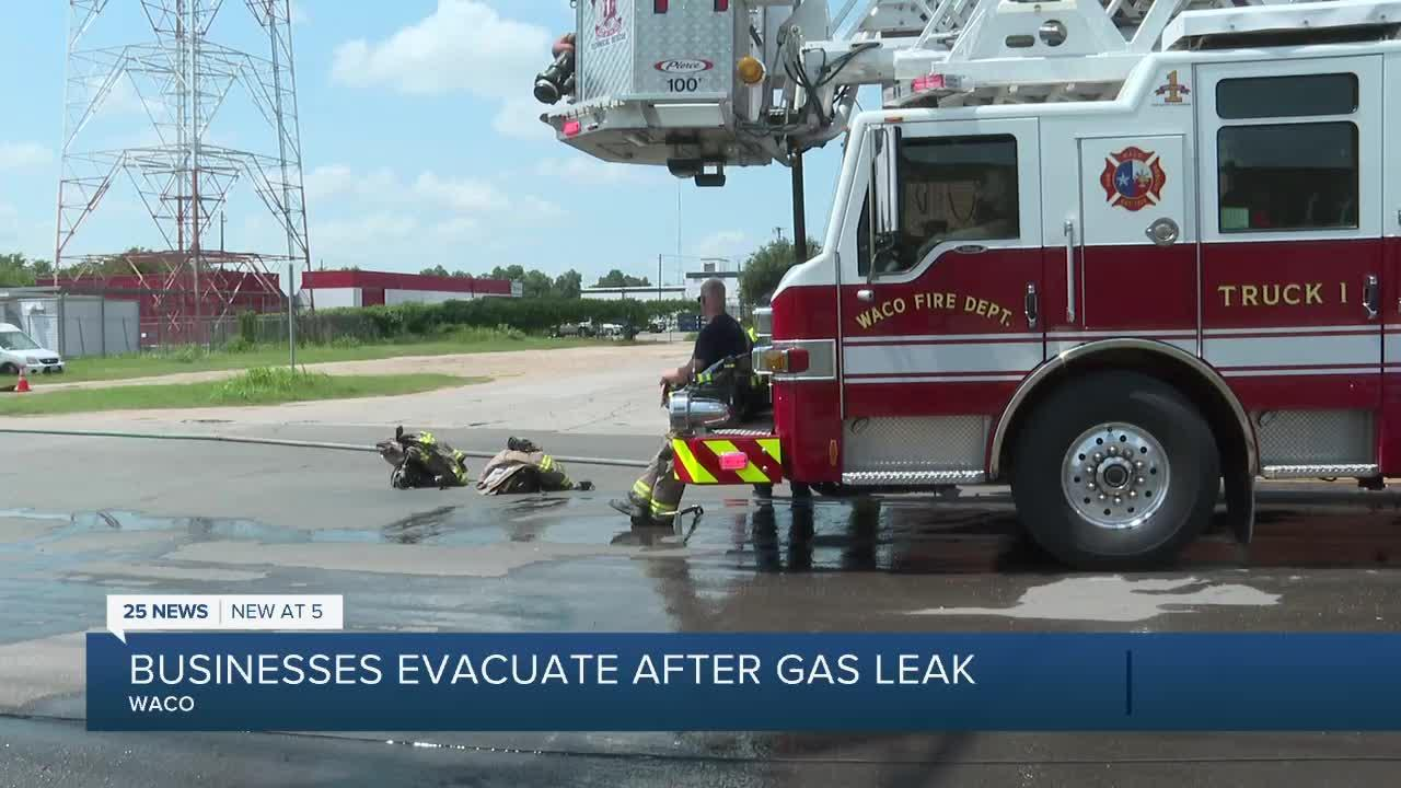 Waco Fire currently working scene of gas leak in 300 block of S. 11th Street