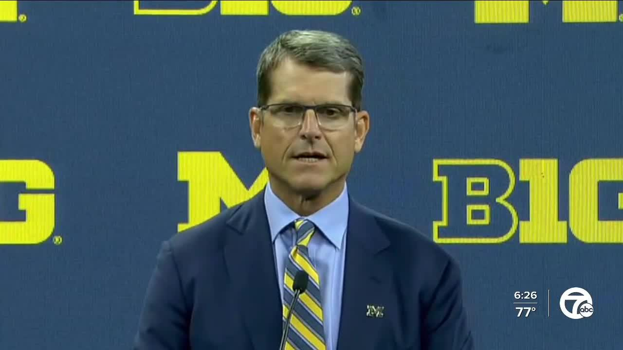 Harbaugh on beating Ohio State, winning Big Ten: 'we're gonna do it or die trying'