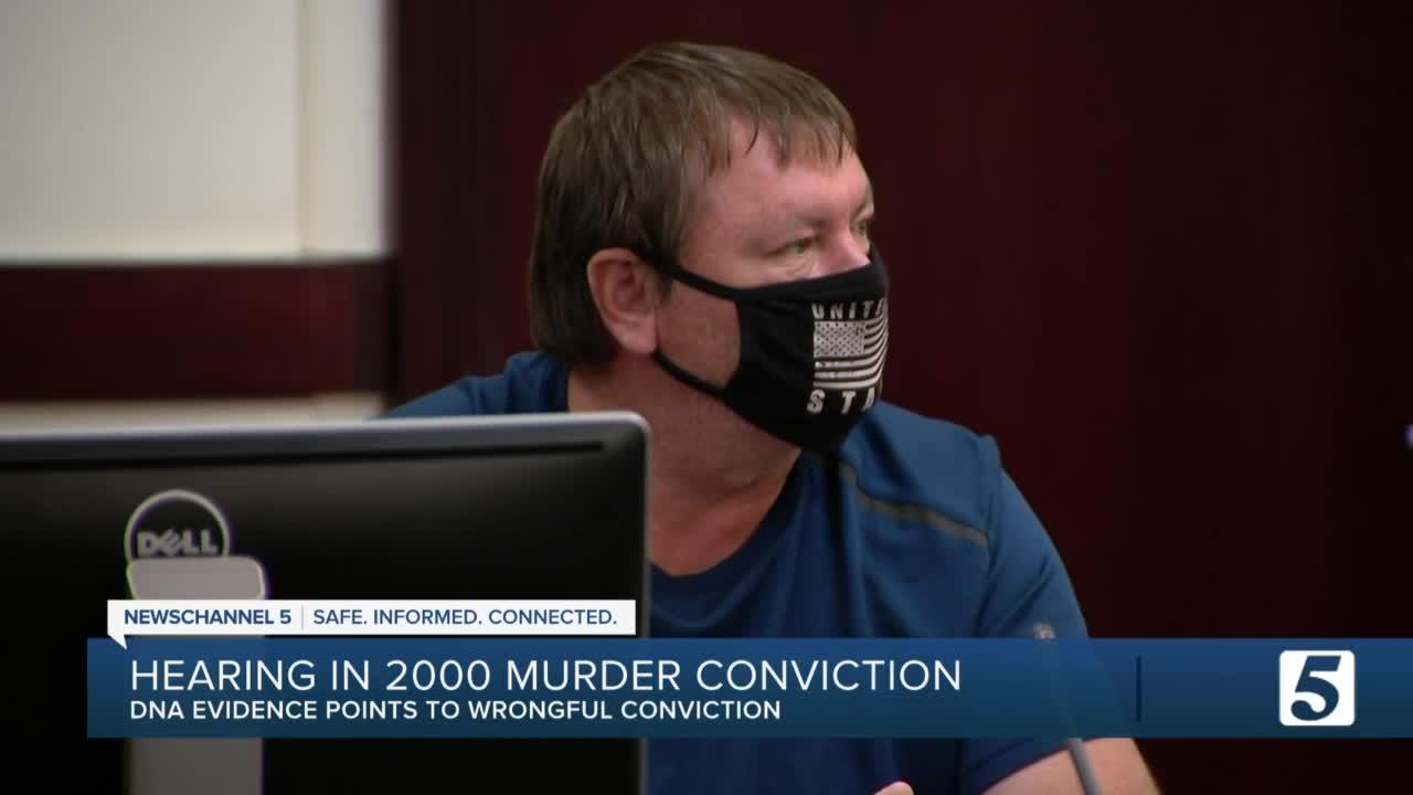Hearing held in 2000 murder conviction