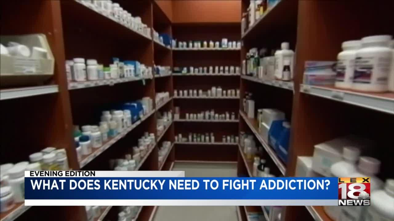 What does Kentucky need to fight addiction?