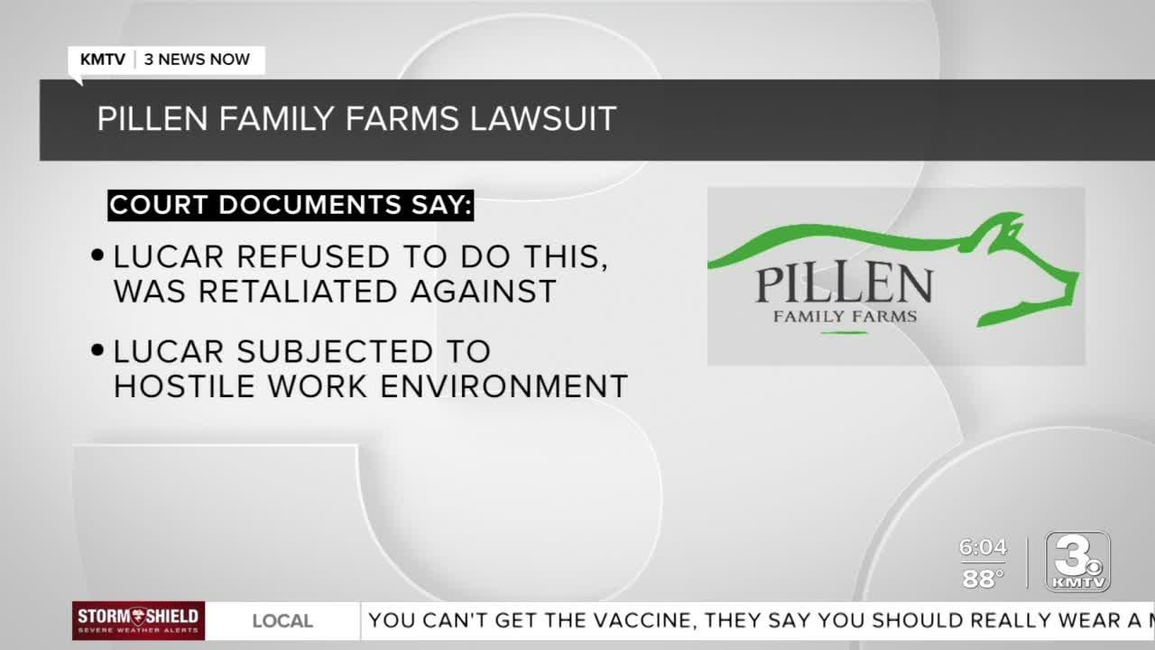 Pillen Family Farms, owned by gubernatorial candidate, sued by former employee