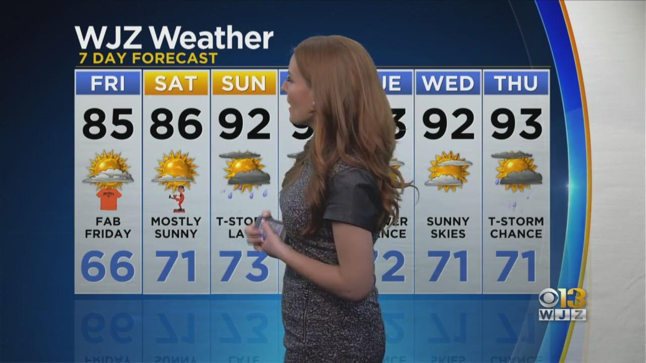 Meteorologist Meg McNamara Has Your Evening Forecast
