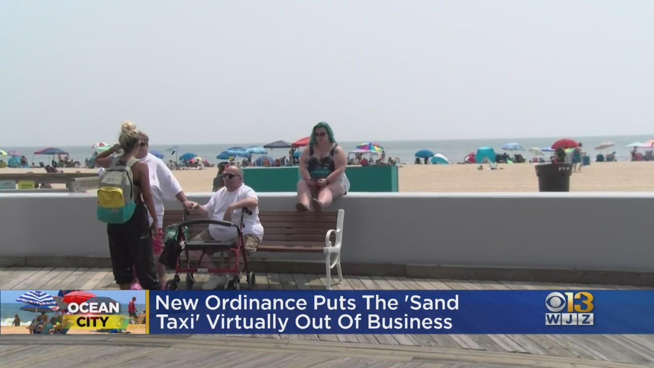 New Ordinance Puts 'Sand Taxi' In Ocean City Practically Out Of Business