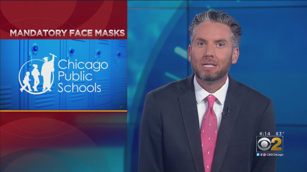 Face Masks Will Be Mandatory In Chicago Public Schools For New School Year