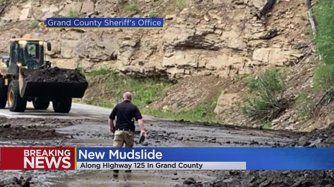 New Mudslide Closes Highway 125 In Grand County Again Thursday