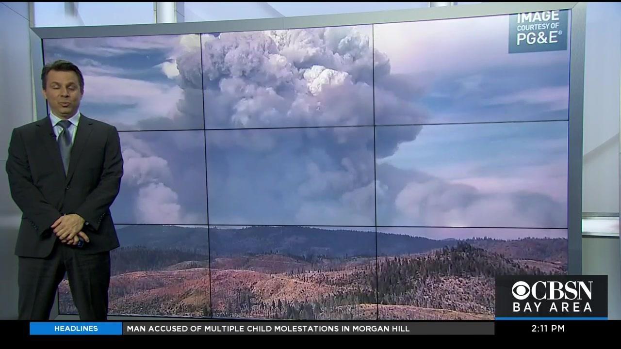 Weather Extra: Darren Explains Pyrocumulus Clouds
