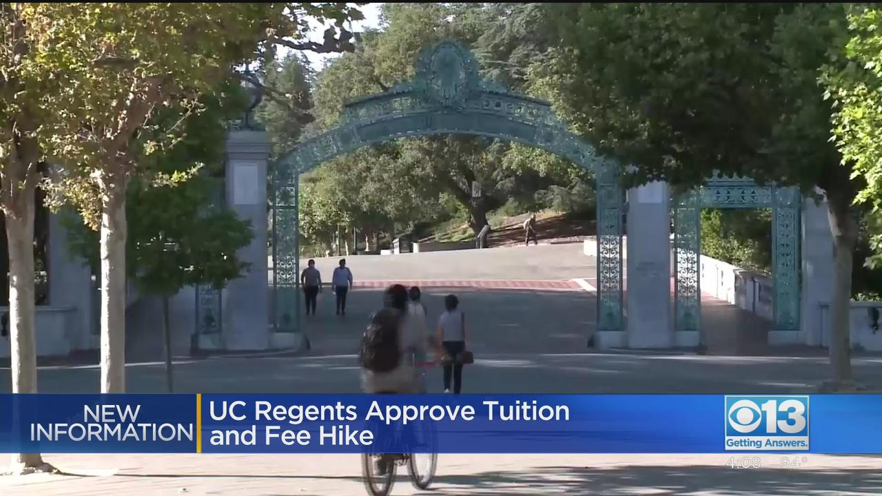 UC Regents Approve Tuition And Fee Hike