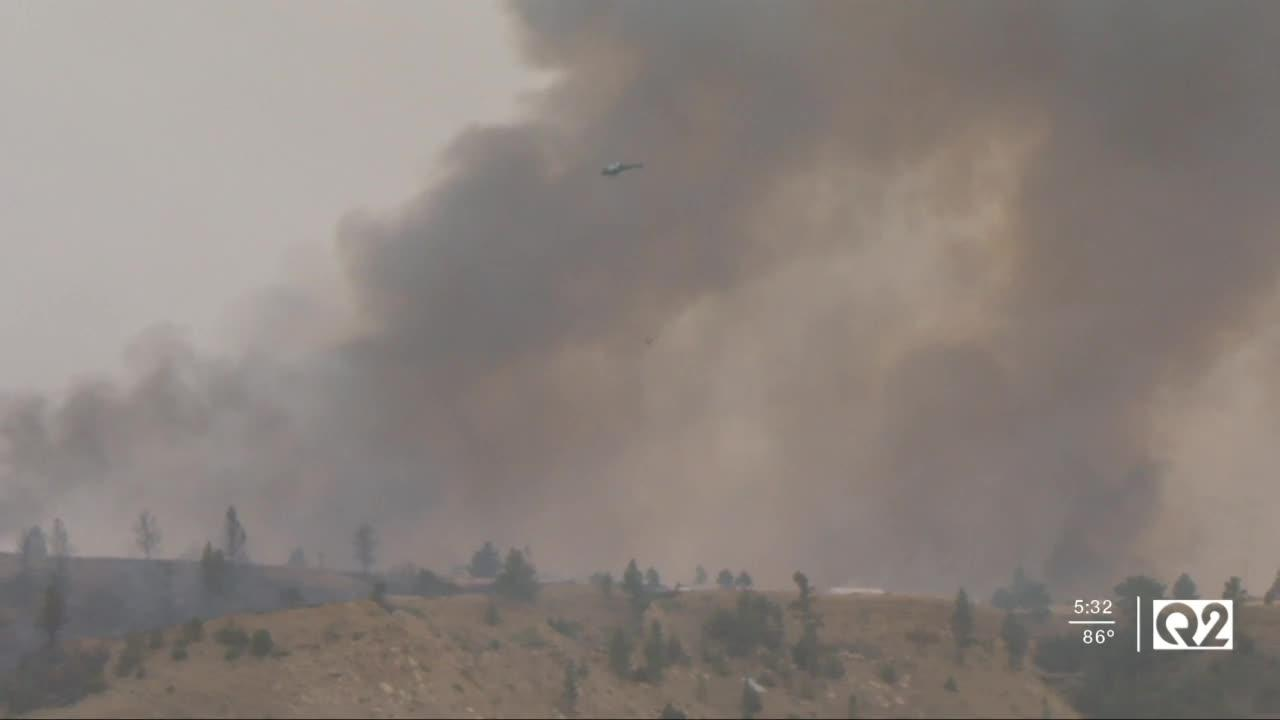 Montana National Guard mobilized for wildfire duty