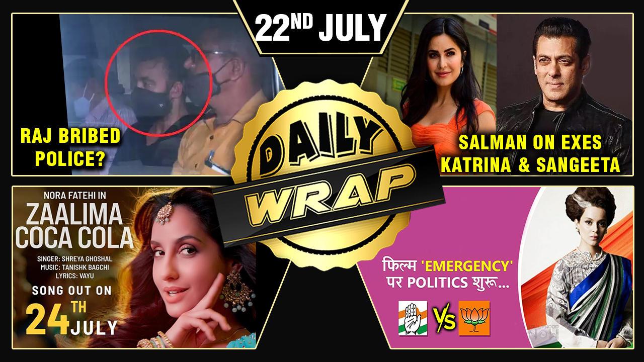 Deepika Remembers Breakup With Ranbir, Raj Bribed Police, Politics Over Kangana's Film | Top 10 News