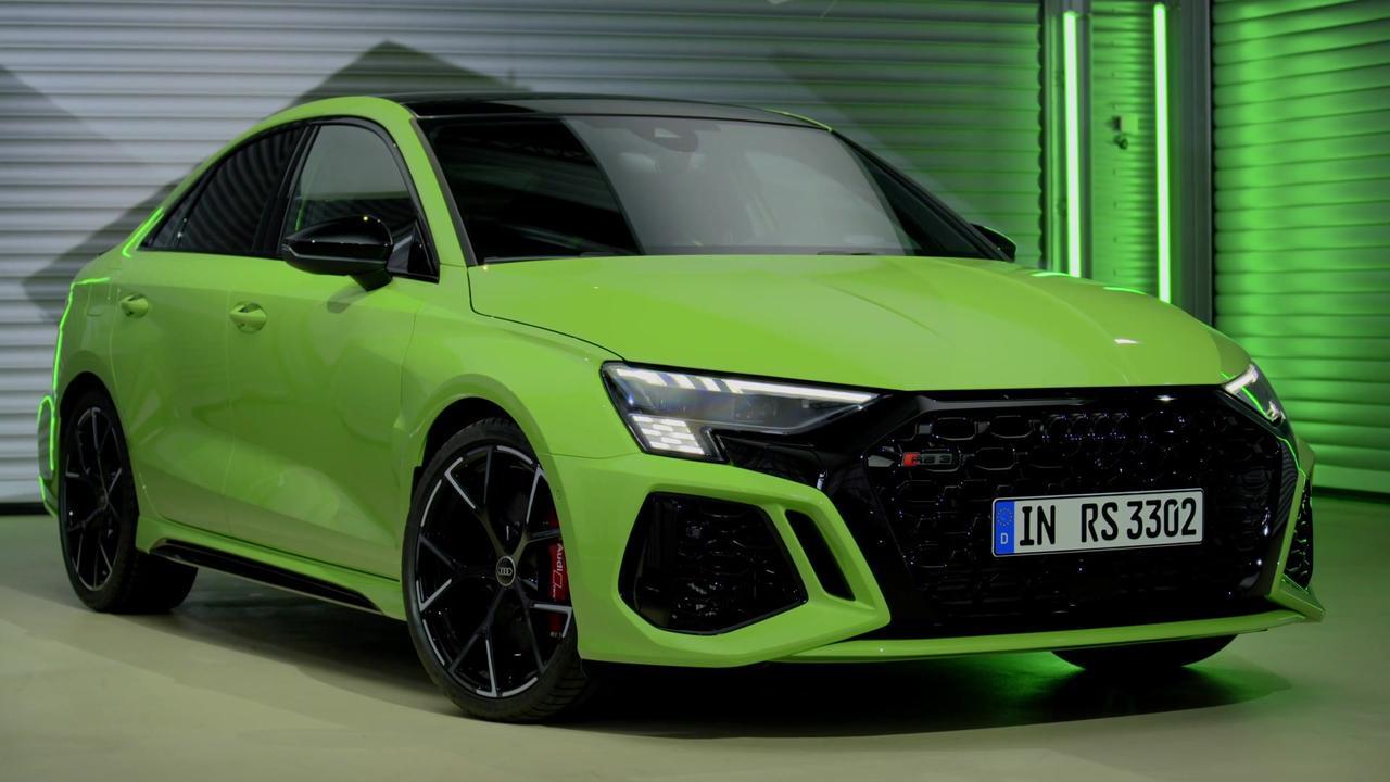 Audi RS 3 Sedan Design Preview