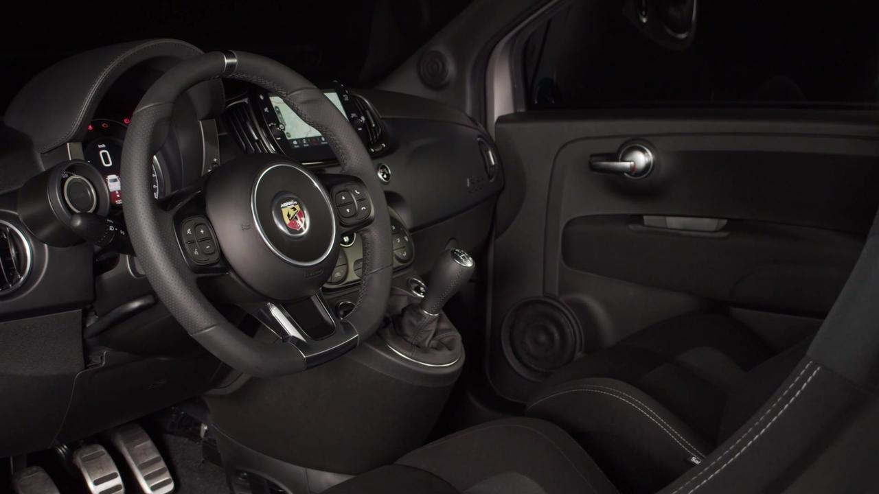 New Abarth F595@Imola Circuit Interior Design
