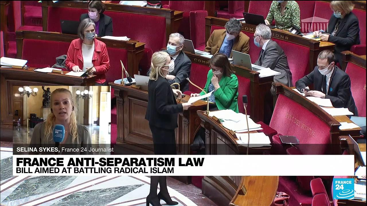 French parliament to definitely adopt controversial anti-separatism bill