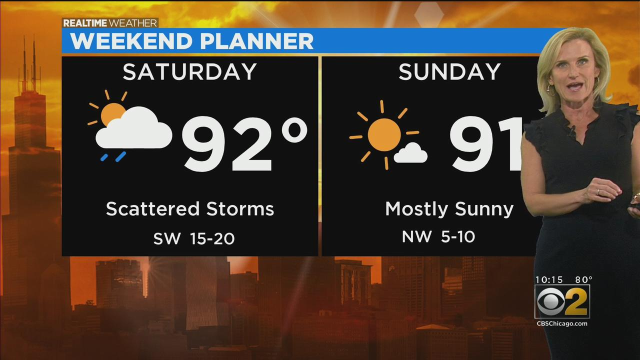 Chicago Weather: Steamy This Weekend