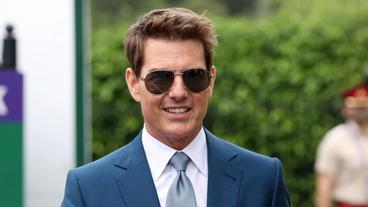 Tom Cruise reportedly holidaying on £32m super yacht off Cornwall coast