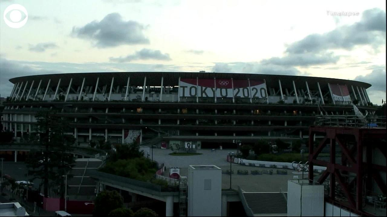 WEB EXTRA: Sunrise in Tokyo Ahead of Olympics Opening Ceremony