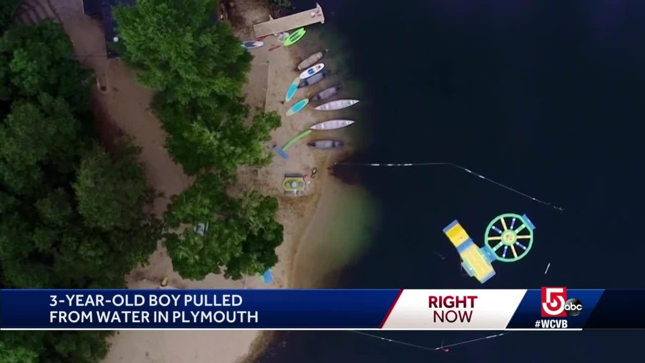 Boy on life support after incident at Plymouth pond