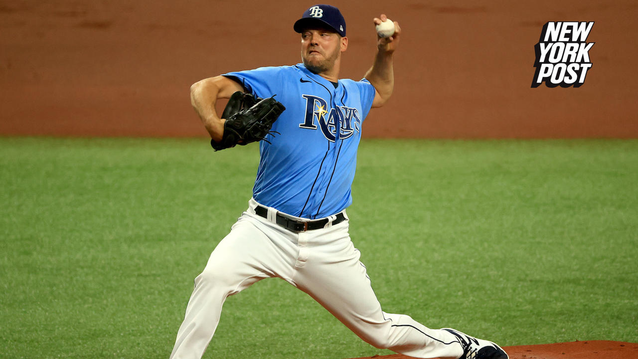 Mets acquiring veteran lefty Rich Hill from Rays in rotation boost