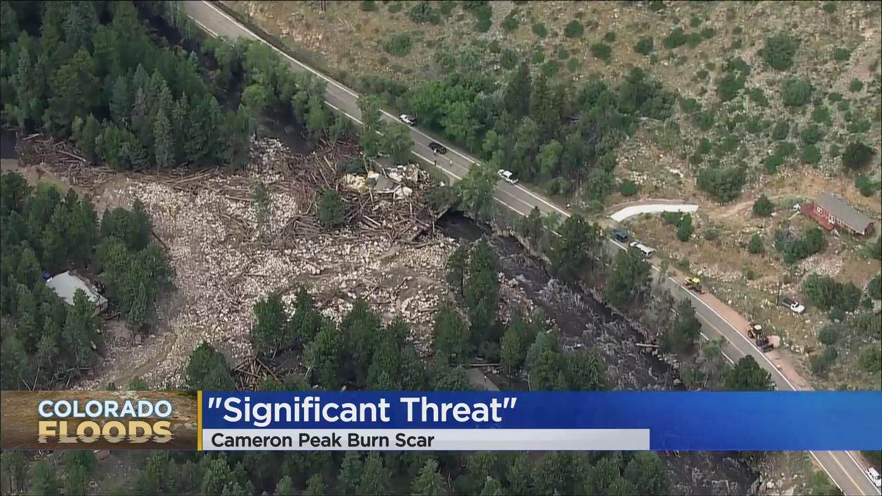 Search For 3 Missing After Larimer County Flooding To Resume Saturday