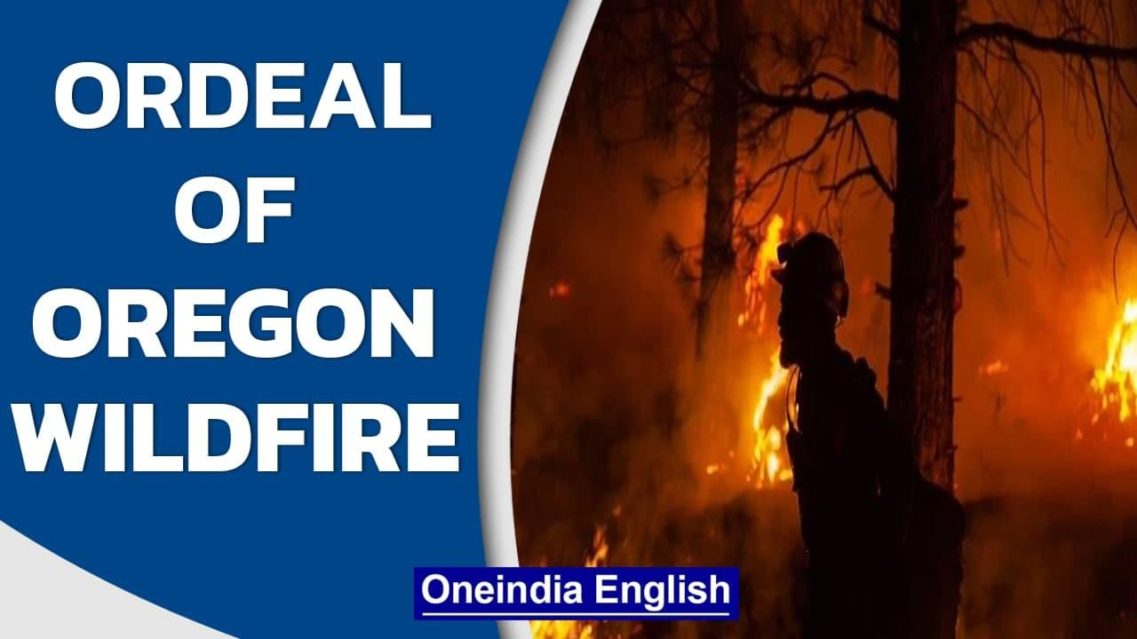 US: Surveying the destruction wrought by Oregon's Bootleg Fire | Oneindia News