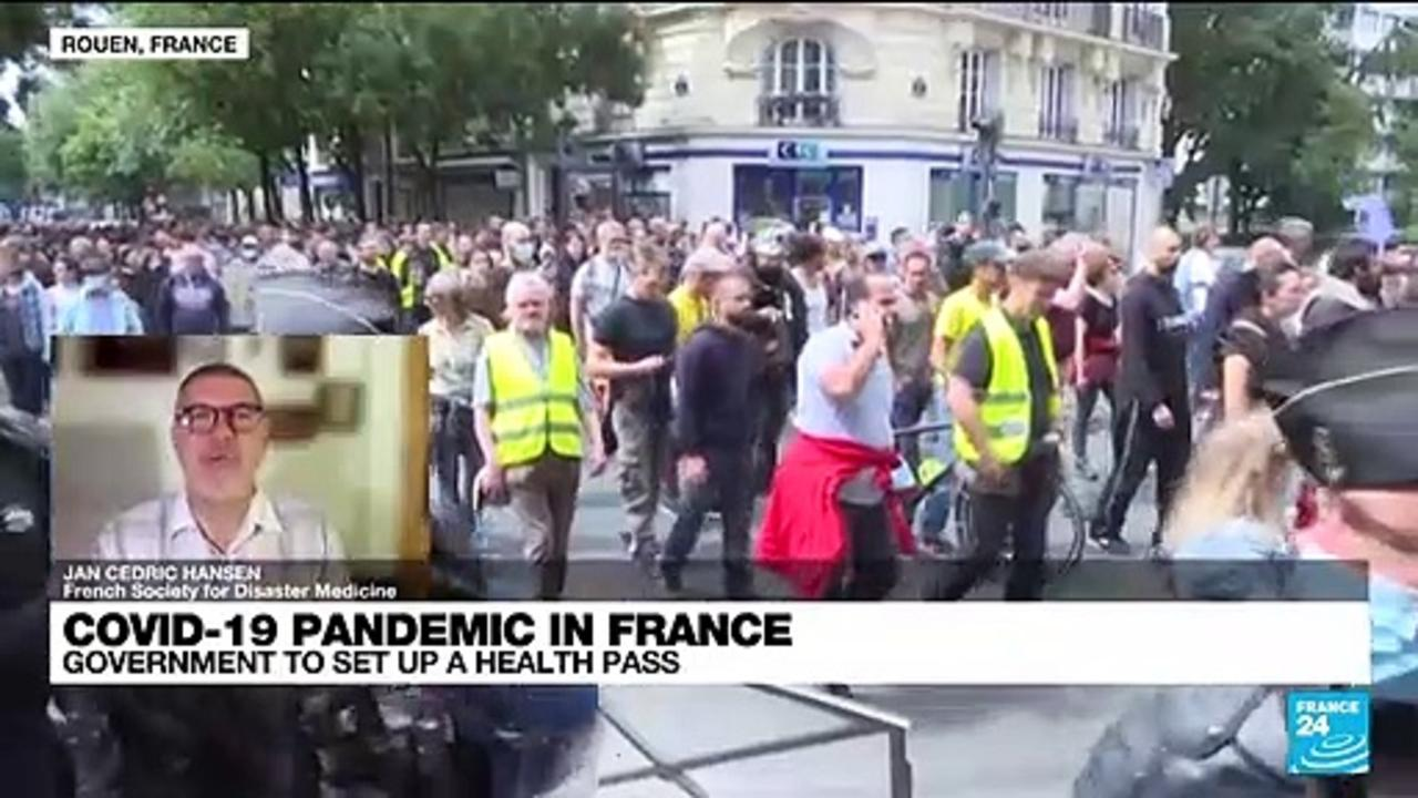 Covid-19 pandemic in France: government to set up a health pass