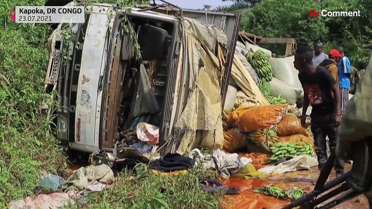 Rebels kill more than a dozen in roadside attack in eastern DRC