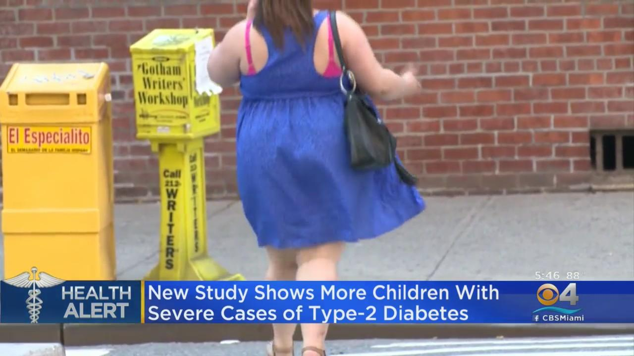 New Study Shows More Children With Severe Cases Of Type 2 Diabetes