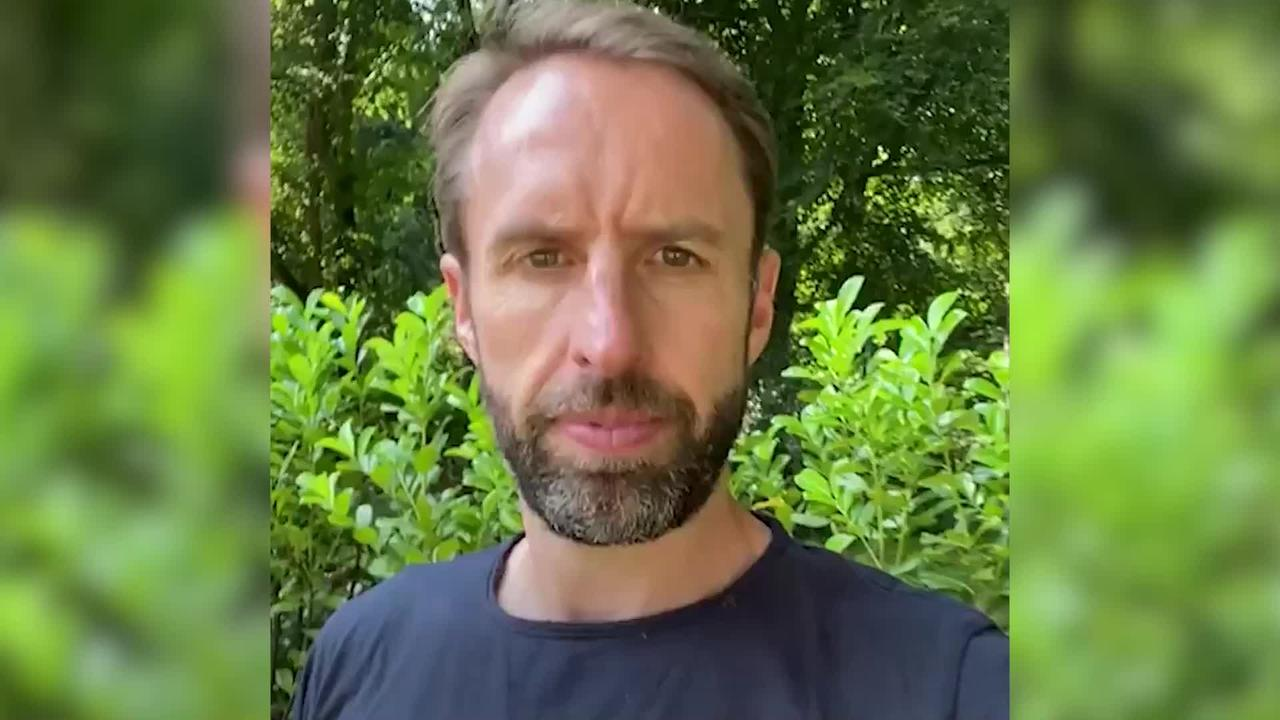 Gareth Southgate urges young people to get Covid jab