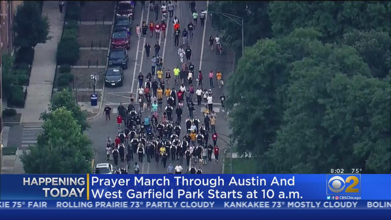 Prayer March Through Austin And West Garfield Park Hopes To Fight Gun Violence