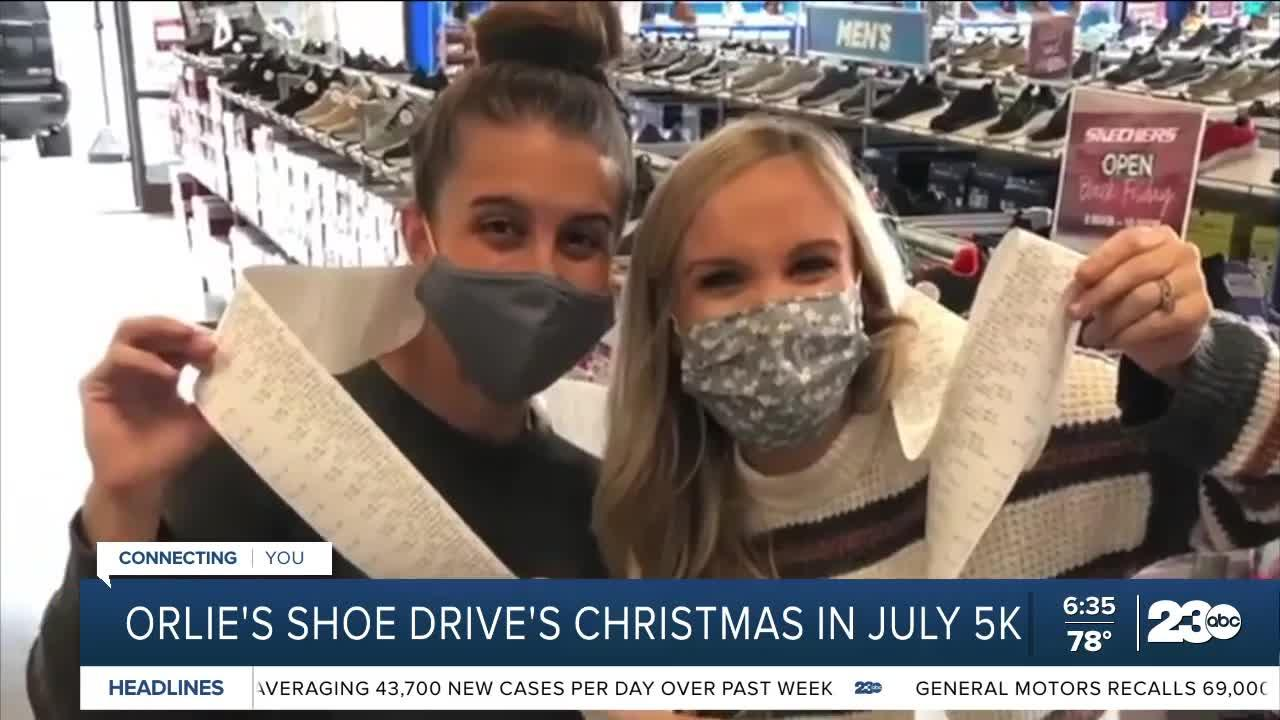 First Orlie's Shoe Drive Christmas in July 5K