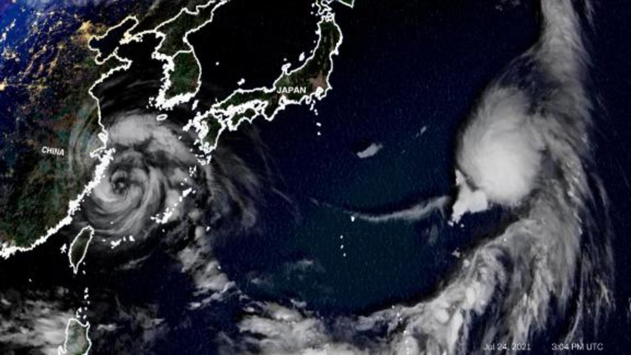 Flood concerns for China and Japan as two cyclones approach